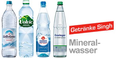 Mineralwasser bestellen